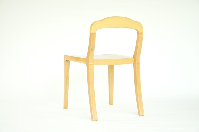 เก้าอี้ไม้โอ๊ค Boccoli chair 4