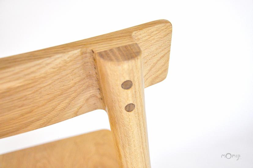 Mori chair เก้าอี้ไม้สไตล์ญี่ปุ่น ไม้โอ๊ค ไม้จริง 07