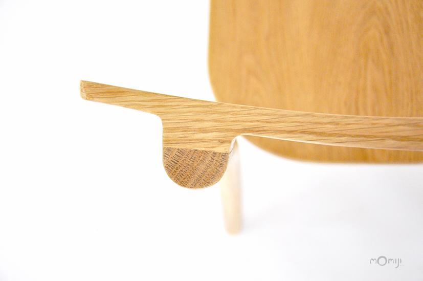 Mori chair เก้าอี้ไม้สไตล์ญี่ปุ่น ไม้โอ๊ค ไม้จริง 08