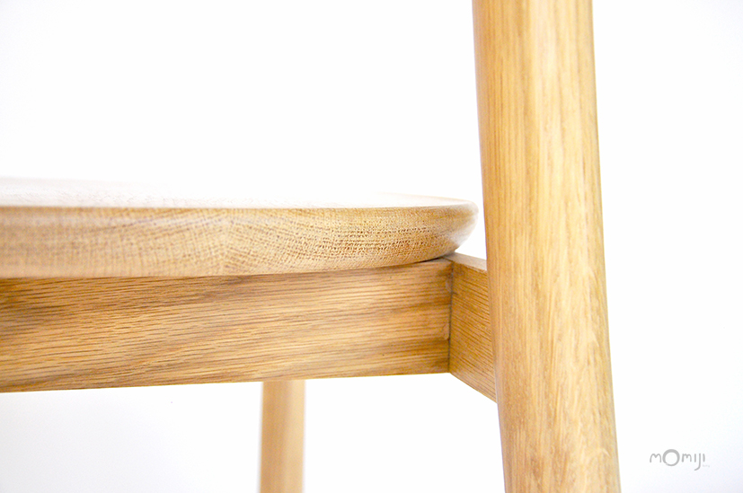Mori chair เก้าอี้ไม้สไตล์ญี่ปุ่น ไม้โอ๊ค ไม้จริง 10