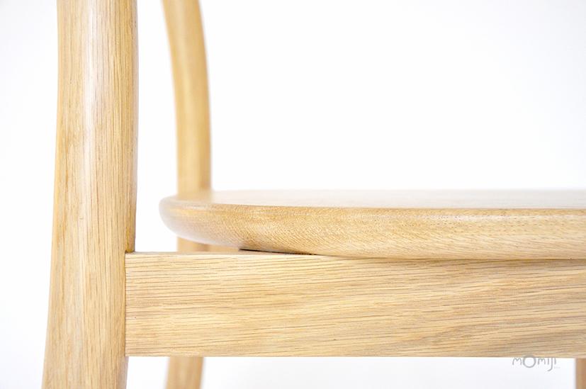 Mori chair เก้าอี้ไม้สไตล์ญี่ปุ่น ไม้โอ๊ค ไม้จริง 14